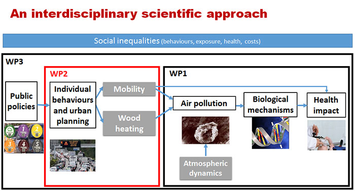 From behaviours to urban planning - WP 2
